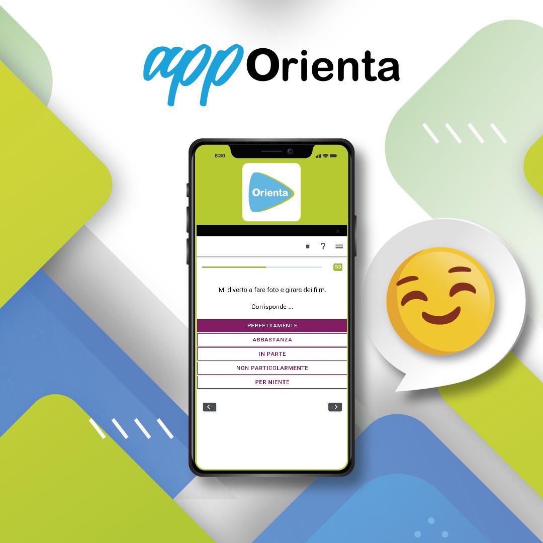AppOrienta- un'app di orientamento professionale